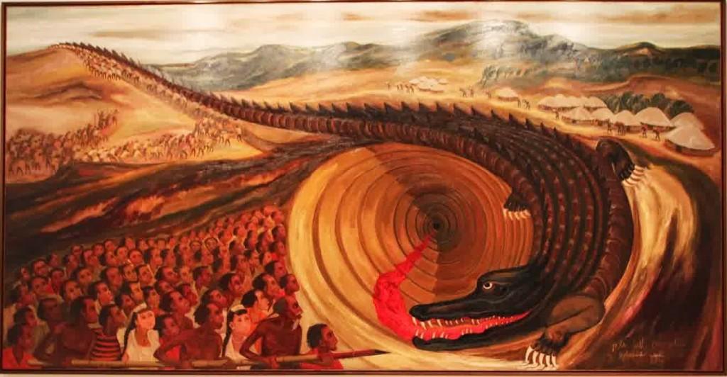 djoko pekik - Go to hell with crocodile